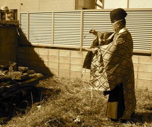 「浜田山の家」地鎮祭